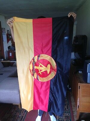 Large Communist Era 1989 New Old Stock DDR GDR Authentic Flag East Germany LOOK