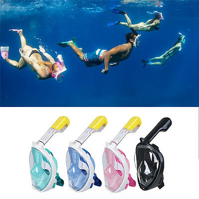Geniune Tribord Easybreath Snorkeling Mask Surface Diving Goggle Scuba S/M L/XL