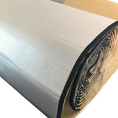 100cm x 100cm Sound Deadener Car Heat Shield Insulation Deadening Material Mat