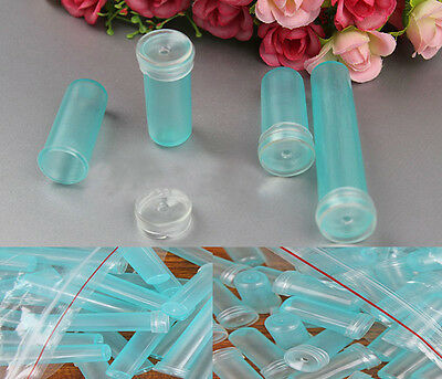 16 10 Mini Plastic Flower Tubes and Caps 7.5 24 /& 35cc Fresh Stems in Water