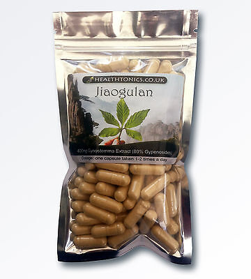 Jiaogulan ( 70:1 equivalent to 28,000mg ), 30-90 Vegetarian Capsules