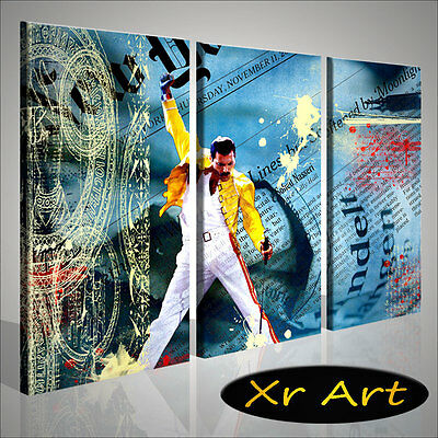 Quadro Moderno King Of The Rock Queen Freddy Mercury Contemporaneo Moderno Casa