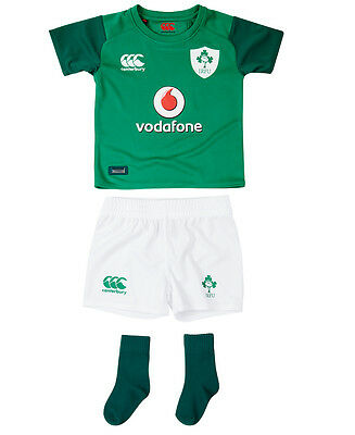 Canterbury Official Ireland IRFU Rugby Infant Home Mini Kit | 2017/18
