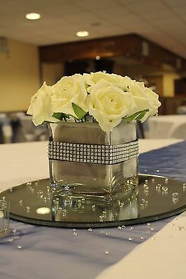 10cm Cube Vase - USED ONCE - EXCELLENT CONDITION