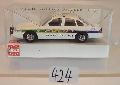 Busch 1 87 Nr 49014 Ford Crown Victoria U S Grand Prairie Police