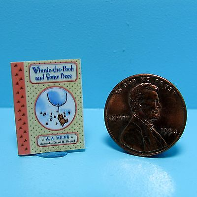 Dollhouse Miniature Replica of Book Winnie the Pooh and Some Bees ~ B127