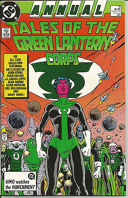Annual Tales of the Green Lantern Corps #3 John Byrne Alan Moore JL Garcia Lopez