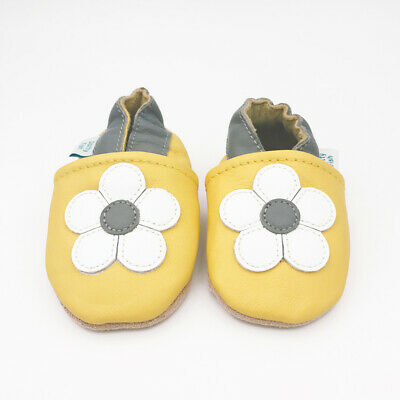 *SECONDS* GIRLS 0-6 MONTHS - Dotty Fish Soft Leather Baby and Toddler Shoes