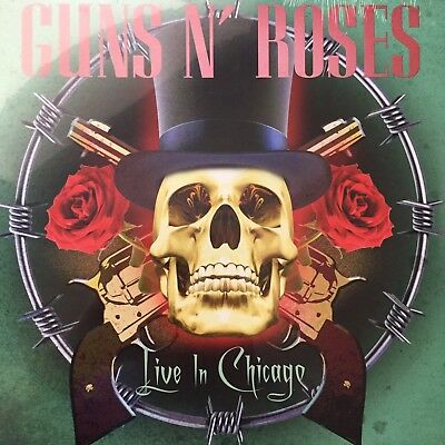 GUNS N ROSES - LIVE IN CHICAGO -  Vinyl LP NEW SEALED