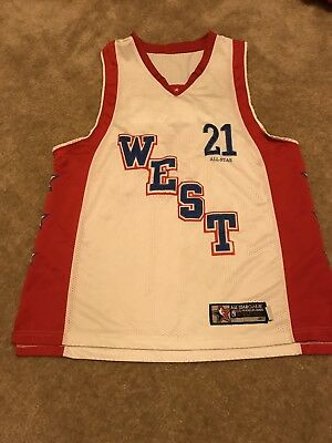 6efcbeebe5f Men s Tim Duncan NBA 2004 All Star Game Jersey Size 52 XL Spurs NBA White