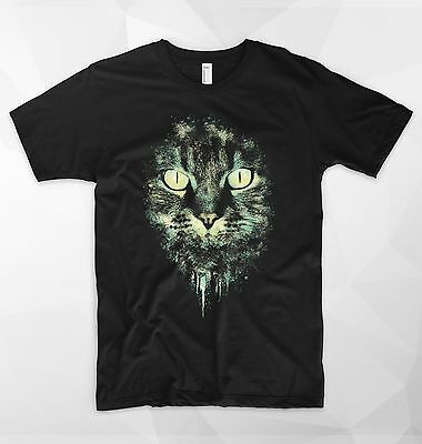 Cat Kitty T Shirt Top Tee Feline Meow Crazy Lady Zoella Vogue Cute But Psycho