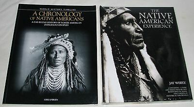 Chronology of Native Americans: Day by Day Life & NATIVE AMERICAN EXPERIENCE
