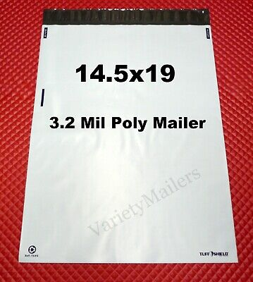 "17 Poly Bag Postal Envelope Mailers 14.5"" x 18.5"" Self-Sealing ~ eBay Branded ~"