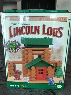 Lincoln Logs Green Valley Lookout New