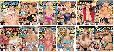 ELECTRONIC SCORE Adult Magazines 2004: Issues September - December x 12
