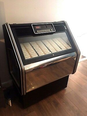 Wurlitzer Fueger Jukebox and approx 1000 records