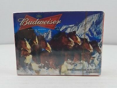 Official Budweiser 2008 Playing Cards - New Sealed