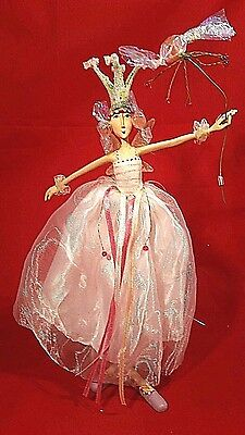 "Krinkles Patience Brewster 10"" Sugar Plum Fairy Large Ornament Dept 56 Figure"