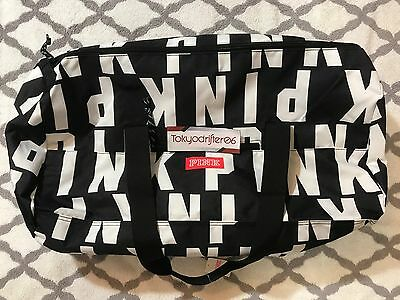 Victoria's Secret PINK FRIDAY Tote / Duffle Gym Bag / Travel Carry On / Black