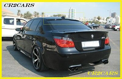 BMW E-60 5-series REAR/ROOF - WINDOW SPOILER (2004-2010)