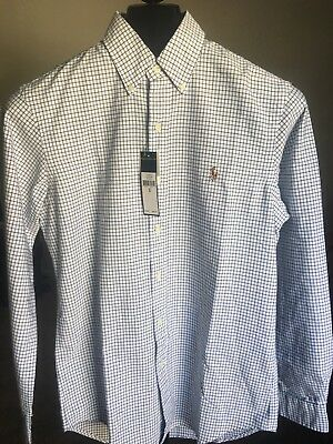 d7d296a4 Polo Ralph Lauren Mens Classic Fit Oxford Buttondown Shirt - Long Sleeve -  Small