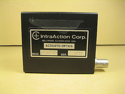 IntraAction  Acousto Optics  A0M-802R