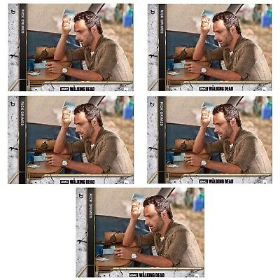 5x COME WHAT MAY CONCRETE RICK GRIMES The Walking Dead Card Trader Digital