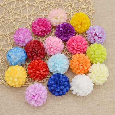 Lot of 20/100 Fake Flower Flowers Artificial Daisy for DIY Home Wedding Decor