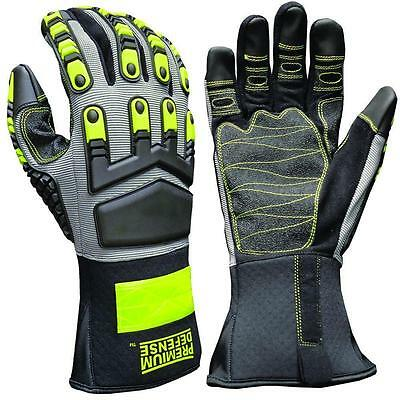 Premium Defense Monster Grip Touchscreen Compatible Gloves - Extra Large