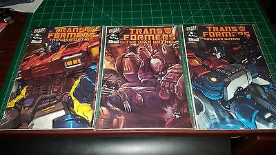 Transformers The War within comic lot