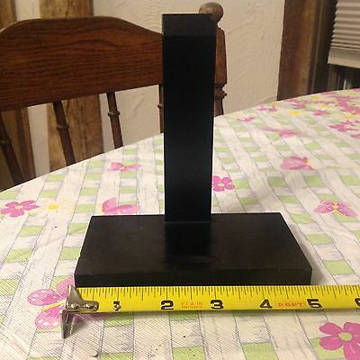 Antique Vintage ASIAN Wood Display Stand  Chinese/Japanese - 5 Inch L
