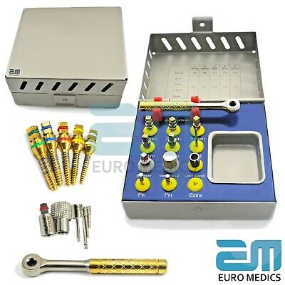 Dental Implant Sinus Lift Kit Bone Expander Surgical Instruments Sterile CE