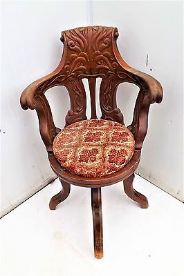 solid mahogany Captains Chair