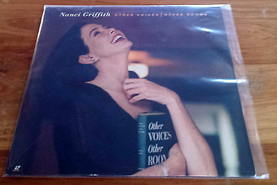 Nanci Griffith - Other Voices Laser Disc Laserdisc Ntsc 1993 U.s. Print