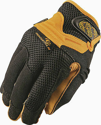 Mechanix Wear Padded Palm Safety Gloves - Cg25-75 M, L