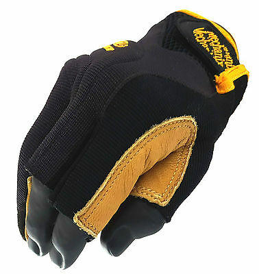 Mechanix Wear Framer Fingerless Fork-Lift Safety Gloves - Cg27-75 M, L, Xl, Xxl