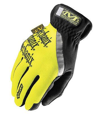 Mechanix Wear Hi-Viz Fast Fit Safety Gloves - Sff-91 S, M, Xl, Xxl