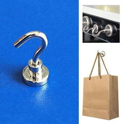 D16 5.5KG Strong Magnet Hanging Hook Rare Earth N52 Neodymium Home Hanger Holder