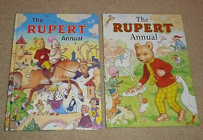 RUPERT ANNUALS x 8 PRE OWNED MOST IN AN EXCELLENT CONDITION