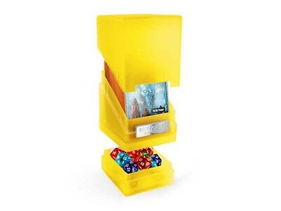 Ultimate Guard - Monolith Deck Case 100+ Amber Jewel Edition - Gaming Box