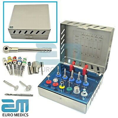 Bone Expander Kit Sinus Lift With Saw Disks Dental Implant Instruments NEW CE