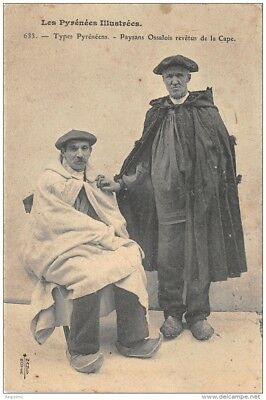 64-Folklore Des Pyrenees-Costumes-N°372-A/0075