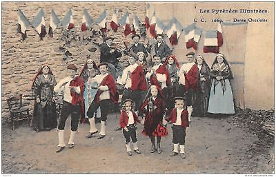65-Folklore Des Pyrenees-Costumes-N°372-A/0325