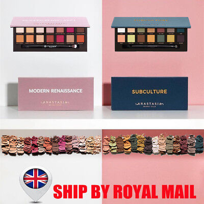 Anastasia Beverly Hills Subculture Eyeshadow Palette 14 Colours Make-Up Shadow