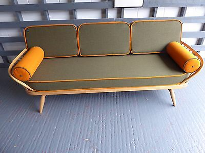 Cushions & Covers Only. Ercol Studio Couch/Daybed. 100% Wool from Yorkshire Mill