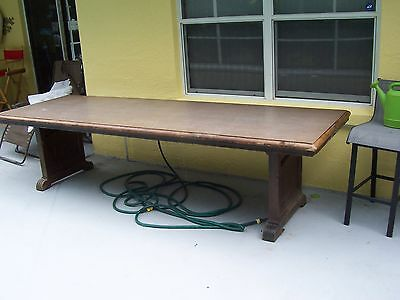 Vintage 10 Ft Conference Room Table