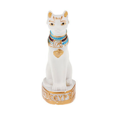 MagiDeal Ancient Egypt Style Egyptian Mau Statue Hand Carved Figurine Decor