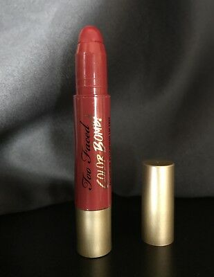 TOO FACED Color Bomb! Moisture Plumping Lip Tint-3.0g-Eastwood Red