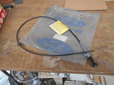 Cable  Starter   Ford  Fiesta Lhd 5-76 A 9-77