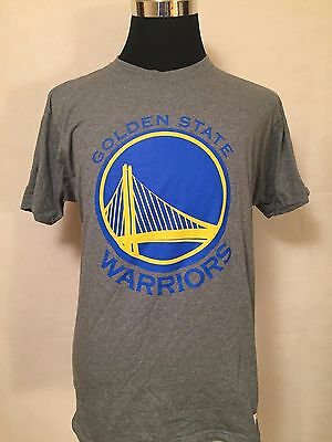 NBA Golden State Warriors Basketball LGE Primary Logo Printed Tee by M&N